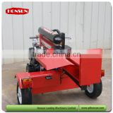 Italy style high capacity Honda gas engine with CE approved industrial size diesel wood splitter 50T