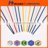Fiberglass Rod,High Strength rc plane Flexible Durable Pultruded Professional Manufacturer fibre rod
