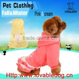 LOVABLEDOG Wholesale Chinese new Sweet Lovely Dog Pet Costume Apparel Warm Puppy Cat Coat dog coat dog clothes
