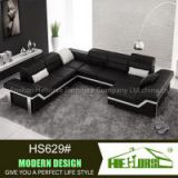 u shaped modern sectional leather corner sofa