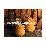 Amber Flicker Flameless Battery LED Votive Candles , Electric Votive Candles for Weddings