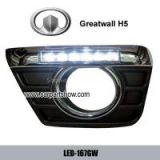 Greatwall Hover H5 DRL LED Daytime Running Lights Car headlight parts Fog lamp cover