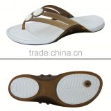Custom Once Injection lastest lady pvc flat shoes for footwear and promotion,light and comforatable