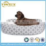 Hot sale luxury cute orthopedic waterproof bed memory foam dog bed