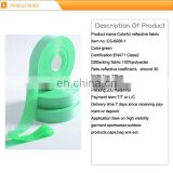 colorful reflective polyester tape