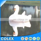 Swimming Pool Kids Giant Swan Inflatable Float Toy Raft