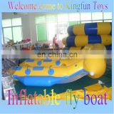 Hot Flying fish boat for water park