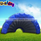 0.55mm PVC Inflatable shell yurt tent for advertisement