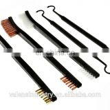 Custom Double End Brass Steel Nylon Bristle Brushes & Metal Polymer Picks Gun Cleaning Brush & Pick Kit
