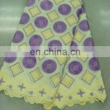 swiss embroidery cotton lace(A-38-1)