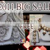 INDIAN KUNDAN JEWELRY NECKLACE SET BUY 1 GET 1 FREE!!..