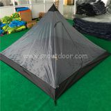 Outdoor square mosquito net tent for 3 persons camping tents