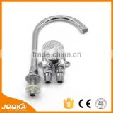 2015 factory price Copper foot valve &cooper kitchen time delay faucet for kitchen