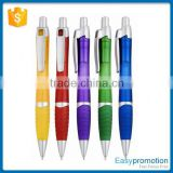 Main product OEM design custom plastic ball pen with clip with good price                                                                         Quality Choice