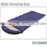 TOOTS Big wide Hiking Camping Sleeping bag for three seasons