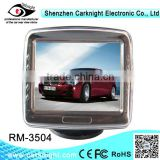 "Car Rear View Mirror Monitor With Stand mounting with 3.5"" LCD sreen with Mp5 player with 2 way AV input"