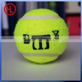 top quality hot sale cheap colorful custom logo tennis ball wholesale