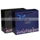 high qiality packaging materials coffee black paper bag