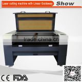 AZ-1590L Line Guide Rail Foam Acrylic Paper Wood Leather Fabric Plastic Plywood Co2 laser cutting engraving machine
