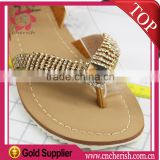 Good price jewelry chains light colorado topaz V shape rhinestone chain for sandal descorations