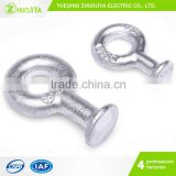 Zhuojiya Power Line Fitting High Quality Hot-Dip Galvanized End Socket Insulator Ball Eye