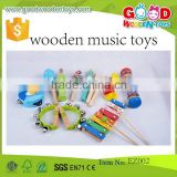 Hot Sale Wholesale Wooden Maraca,High Quality Wooden Musical Instrument,2015 New Cheap Wooden Musical Instrument Toys