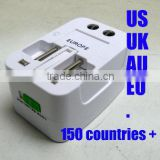 Best Partner Multi Plug Adaptor for Travel by Yutang