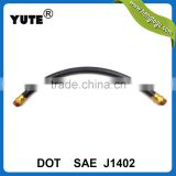 dot approved epdm rubber hose truck air brake hose with brass fittings