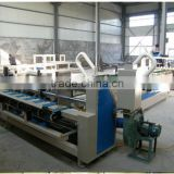 High speed full automatic corrugated carton box folder gluer machine/cardboard making machine