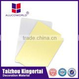 Alucoworld mirror finish cardboard honeycomb sheets aluminium composite panel aluminum sheet