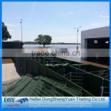 Military sand filled barrier Hesco container welded gabion box Hesco defense wall price for / Explosion Proof Hesco Barrier Wall