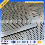 Trade Assurance Perforated stainless steel sheet metal/perforated metal mesh/stainless steel mesh plate