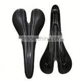 Weight light new product 2014 hot road bicycle or mountain bike carbon fiber saddle racing seat