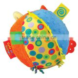 Soft Plush Baby Rattle Noisy Toy Ball