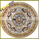 China factory directly export handcut tiles mosaic medallions, Suppliers of marble tile inlay medallions