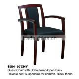 Office wooden fabric guest chair SON-97CHY