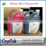 FY union Infinity ink sk4 solvent ink for infinity/challenger machine