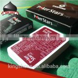 high end custom playing cards board game for advertising promotional gift casino game wholesale