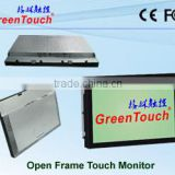 15 inch two pints P-Cap Open Frame Touch Monitor with handwriting for ATM, VTM, Interactive Kiosk, Gaming, HMI