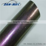 Full Car Body Decal 1.52*20M/Size Car Vinyl Wrap Pearl Glitter Chameleon Adhesive Vinyl Rolls