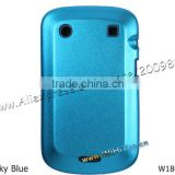 Aluminum+Silicone Metallic Back Cover Case for Blackberry Bold 9900 9930