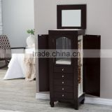 Luxury wood jewely armoire cheap bedroom furniture sale                                                                         Quality Choice