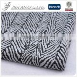 Jiufan Textile TC French Terry Polyester Cotton with Grey Melange Color Fabric For Apparel