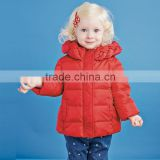 DB2682 dave bella 2015 winter infant coat baby padded jacket girls padded coat girls down coat down jacket