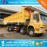 China cheap price HOWO 30 Ton hydraulic pressure self loading dump truck                                                                         Quality Choice