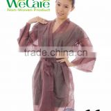 Disposable Nonwoven SPA and Beauty Salon Kimono Robe, Salon Uniforms with CE Certification