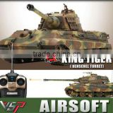 wholesale 1/24 Vstank Kingtiger BB battle rc tank