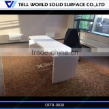 Tell world latest office table designs by professional acrylic solid surface funiture manufacture