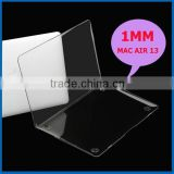 High quality New Laptop clear crystal Hard case For Mac Book Air 13""