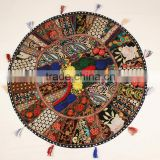 Indian Floor Round throw pillows and Cushions Scatter cushions Pet Bedding Kids Bedding Nursery Floor cushions